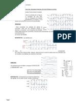 Solucionario Del Examen Parcial II de Electronic A Digital