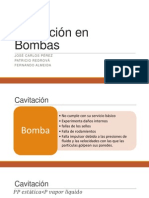 Cavitación en Bombas