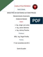 Informe Eficacia & Desiquilibrio Final