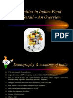 Indian Food Retail Industry - An Overview