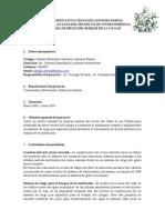 Informe proyecto FONAG