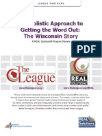 Wisconsin Credit Union League - The Holistic Approach to Getting the Word Out