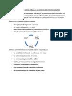 Instrumentos de Gestion Pública en La Municipalidad Provincial de Puno