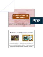 Resitencia en Acinetobacter Bumanii Alumnos