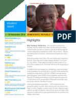 DRC Sitrep November 2014