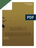 Diseño y Fabricacion