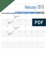 AP Feb Calendar