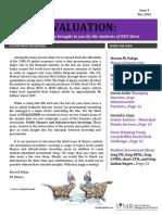 Evaluation December 2014