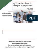 job hunt strategies