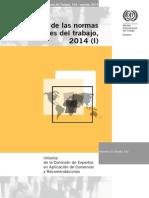 OIT - Aplicación de las normas internacionales del trabajo 2014 (I)