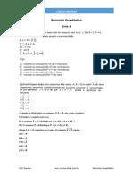 Lista 1.Raciocínio Quantitativo