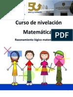 Razonamiento Logico Matematico MANUAL B