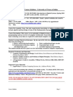 UT Dallas Syllabus for ee2310.001.10s taught by Roozbeh Jafari (rxj065000)