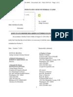 10714 Joint Status Report Regarding October 9 Status Conference 2
