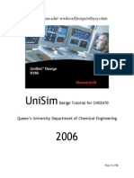UniSim Design Tutorial.docx