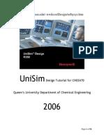 UniSim Design Tutorial.docx