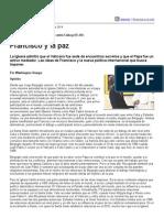 Página_12 __ El Mundo __ Francisco y La Paz