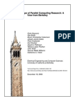 Landscale of Parallel Computing Research