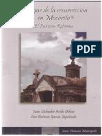 Avilés Ochoa, Juan Salvador - El Lugar de La Resurrección en Mocorito (El Panteón Reforma)
