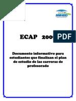 Documento Informativo ECAP 2009 (1)