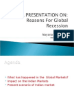 Reasons for Global Recession-nayana