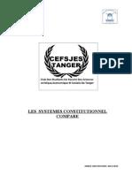 Grand Systeme Constitutionnel Compare