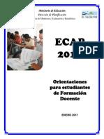 Documento de Orientaciones ECAP 2010(2)
