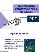 PLANEAMIENTO EDUCATIVO 2014
