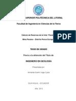 Tesis de Grado _geología_ Armando Vega