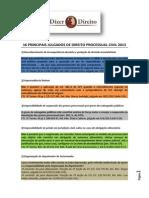 16 principais julgados de Direito Processual Civil 2013.pdf