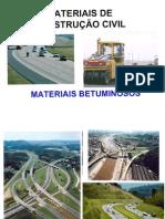 Materiais betuminosos