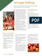 interaction article no-added-sugar baking p26-27 2