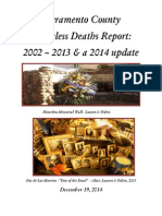 Homeless Deaths Report