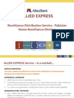 Allied Express Service Business Presentation June 2014 Revised (1)