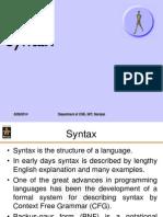 L6 L11(Syntax)