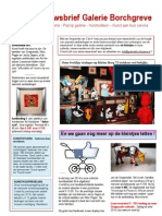 Galerie Borchgreve - Nieuwsbrief Kerst-editie 2014