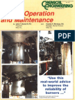 Burner Operation & Maintenance - CE