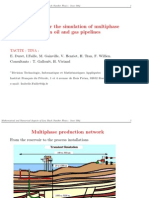 Two models for the simulation of multiphase flows in oil and gas pipelines