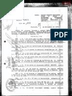 Sentencia de la Causa Sabino Montanaro.Dictadura Stroessner - Paraguay