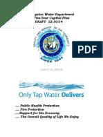 Kingston Water Department Capital Plan