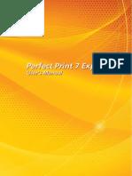 soft Xpansion Perfect Print 7 Express User's Manual