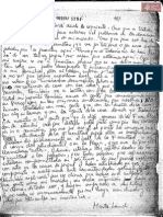 Carta de Dora Marta Landi a Cantero.Dictadura Stroessner
