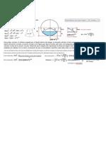 Calculo Para Volumen de Un Tanque Horizontal