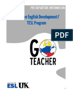 UK Go Teacher Pre-Departure Information (Cohort 6)