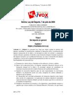 Ley Del Deporte (2)