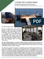 Friend Ships Activities Report October 2014