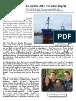 Friend Ships Activities Report December 2014