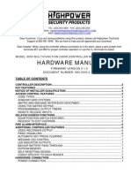 Highpower Model 3000 Hardware Manual