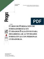 Programa FORMADORES CUIDADOS PALIATIVOS