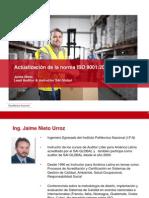 Presentacion Webinar ISO 9001:2015